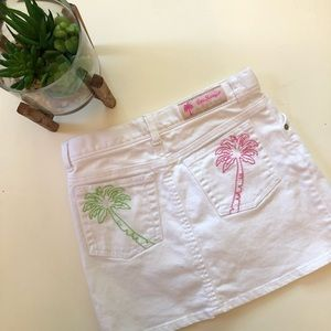 Lilly Pulitzer Kids White Skirt